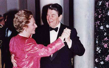 Thatcher y Reagan
