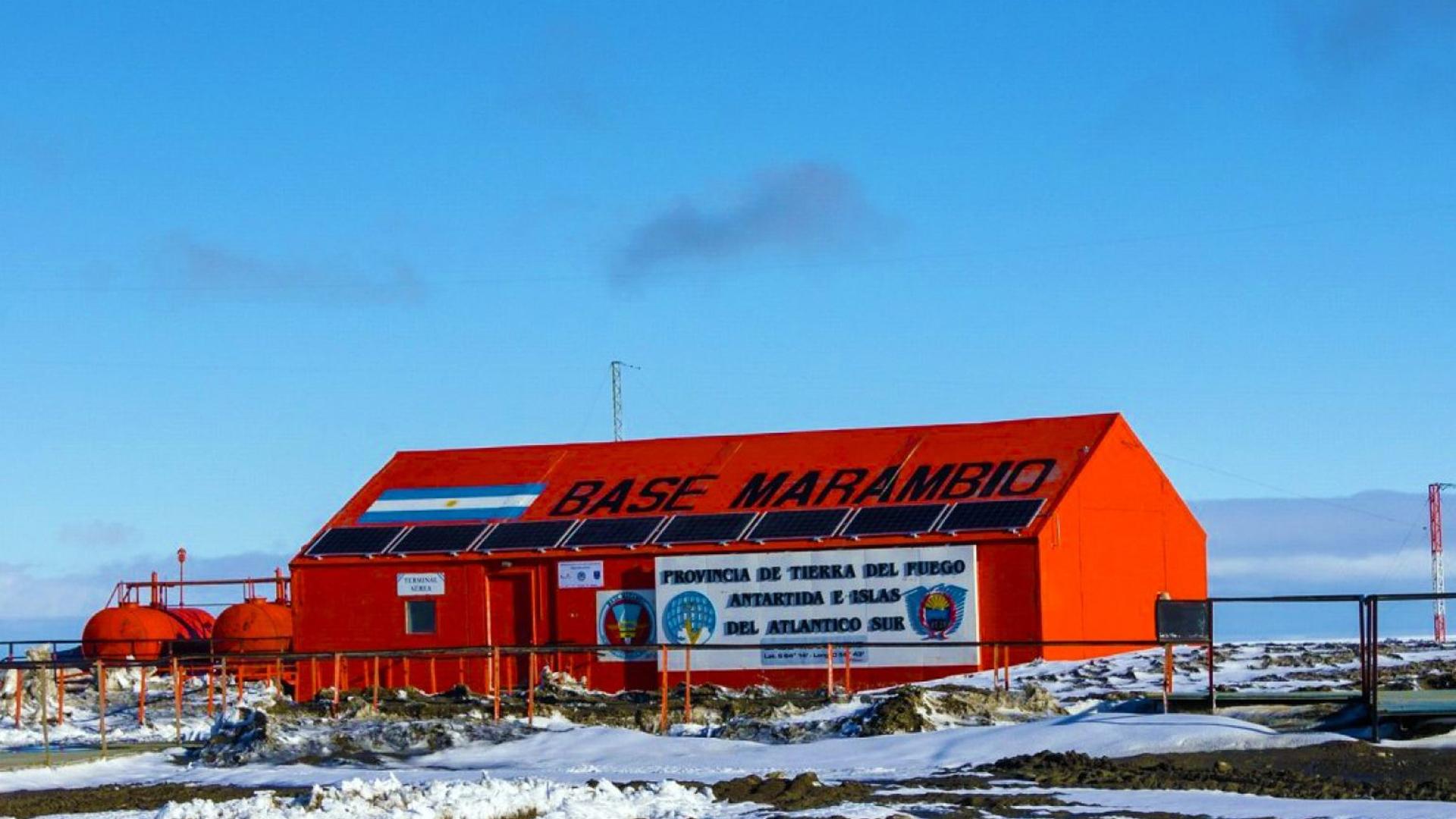 Marambio es una de las seis bases permanentes con las que cuenta la Argentina en la Antártida. Foto: Archivo DEF.