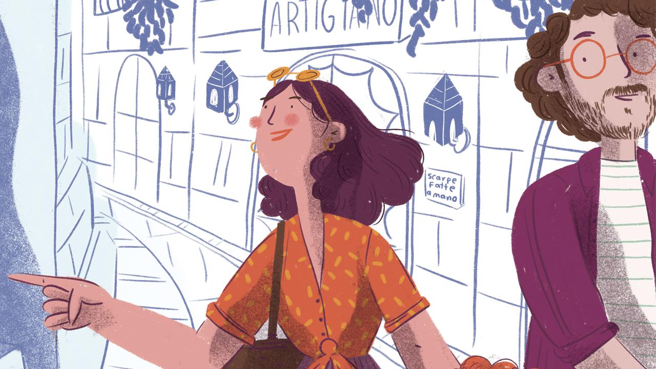 Uhart es autora de numerosas crónicas de viajes en los que resaltan las voces de ancianos sabios o memoriosos, y que combinan la minuciosa observación con sucesos pasados que aún marcan huellas en el presente. Ilustración: Caribay Marquina.