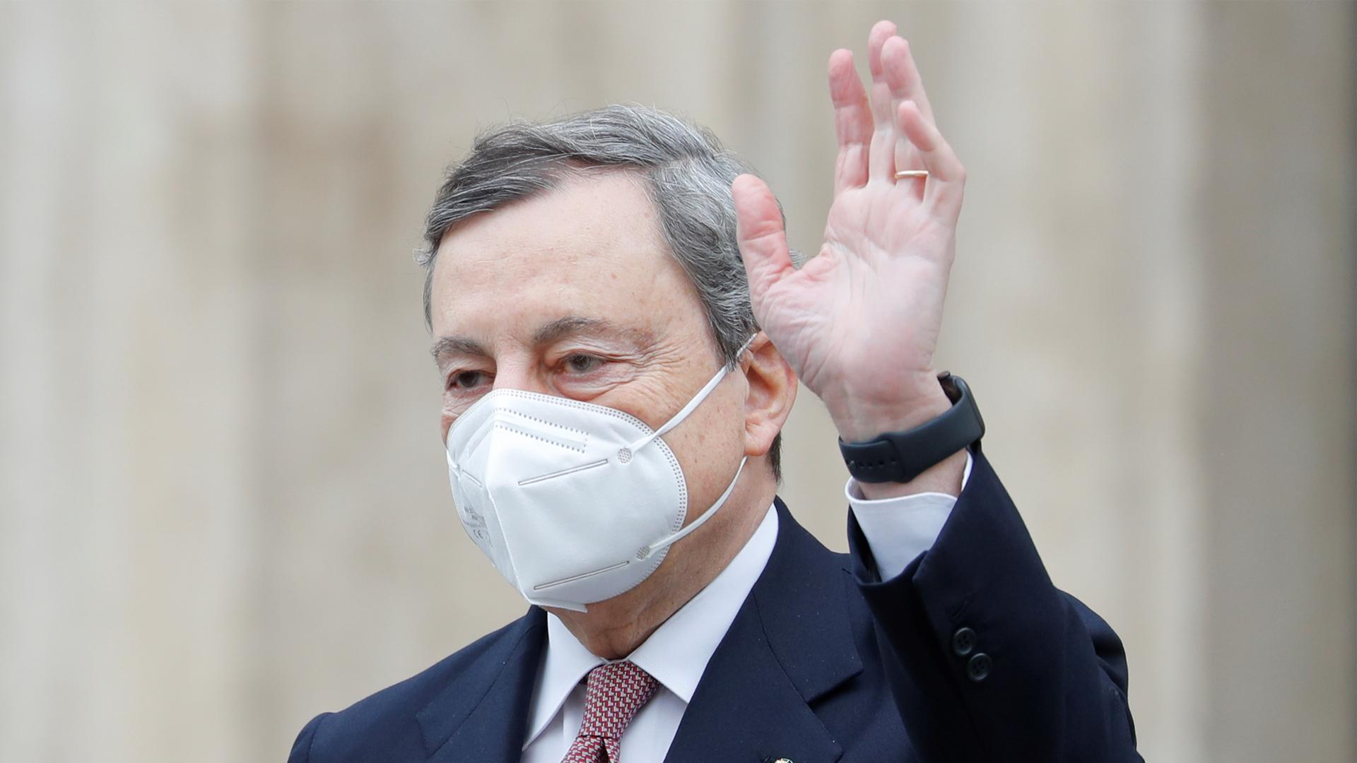 El expresidente del Banco Central Europeo, Mario Draghi, asumió el cargo de primer ministro. Foto: Archivo DEF.